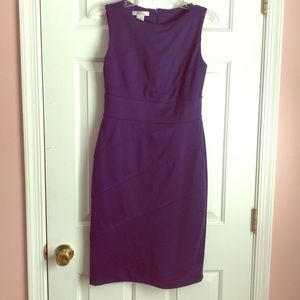 London Times size 8 purple dress
